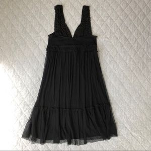 Ella Moss Dresses - 📦 3/$15 Ella Moss Lace Slip Dress with Bow